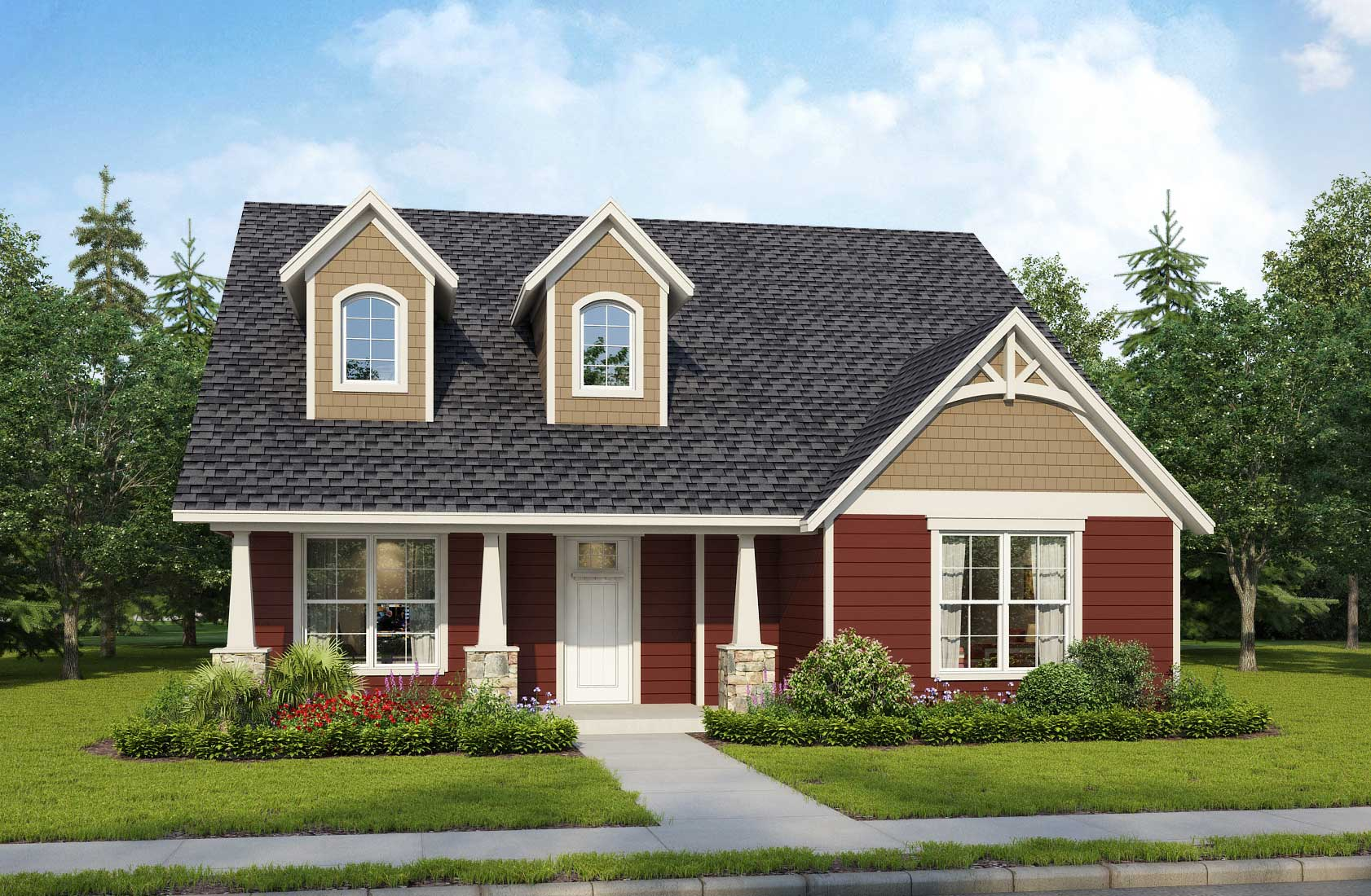 Model home on Eve Mae Blvd Lot #9